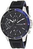 Tommy Hilfiger Reloj Analógico para Hombre de Cuarzo con Correa en Silicona 01791724