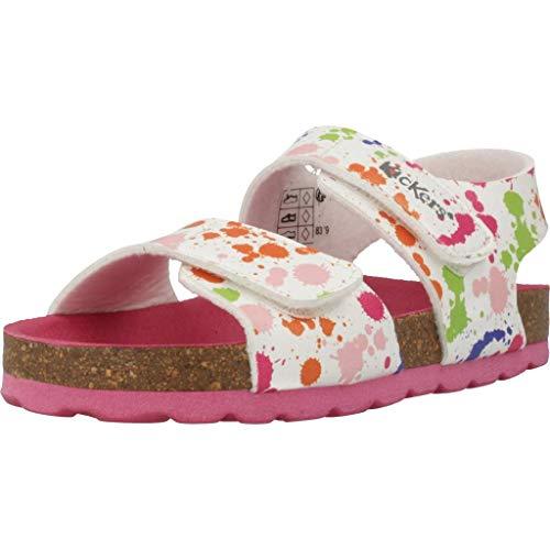 Kickers Mädchen Sandalen Sandaletten 785451 10 Weiß 29 EU
