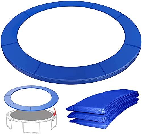 VULLDWS Reemplazo de la almohadilla de la cubierta de trampolín, la cubierta de la seguridad de la primavera relleno de almohadillas envolventes, 6ft 8ft 10ft 12ft 13ft 14ft, resistente a los rayos UV