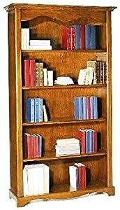 Antiche Riproduzioni Libreria noce tanganica cm 120x40, h 210