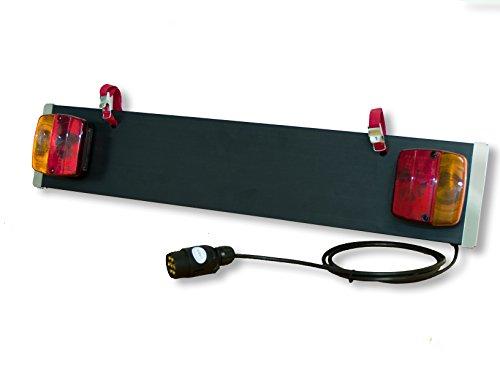 MENABO Beleuchtungsträger für Heckträger mit 7-poligen Stecker