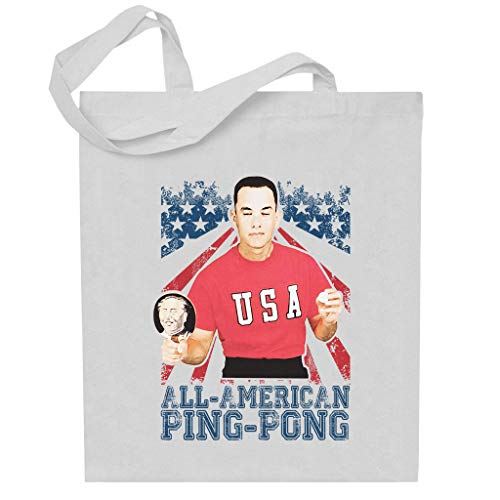 Cloud City 7 Forrest Gump All American Ping Pong Totebag