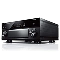 11.2-ch processing with Dual ESS SABRE PRO ES9026PRO Ultra DACs, balanced XLR outputs, Dolby Atmos, DTS:X (7.2.4-ch) with Zone B, Cinema DSP 3D, and YPAO Sound Optimization Wi-Fi, Bluetooth, airplay, Spotify connect and MusicCast multi-room. Works wi...