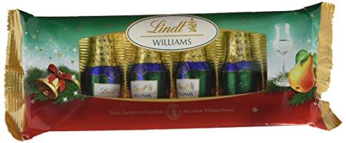 Lindt & Sprüngli Alkohol Fläschchen Williams, 2er Pack (2 x 132 g)
