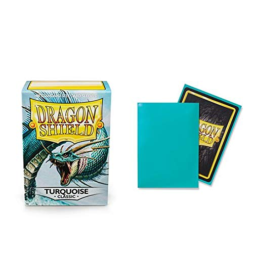 Dragon Shield Classic Turquoise Standard Size 100 ct Card Sleeves Individual Pack