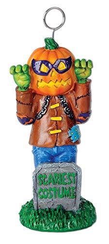 Halloween-Party-Dekoration, Franken-Pumpkin Scariest, 15 cm, 6 Stück