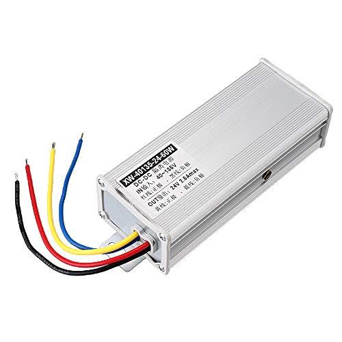 Módulo electrónico DC Buck Power Converter 1A / 2.5A / 5A Protección múltiple Adaptador de voltaje de módulo para detectar alarmas de automóvil LED Pantalla de automóvil impermeable 40-135V a 12V Equi