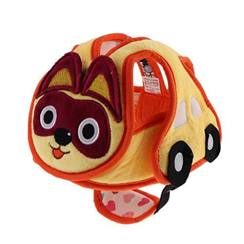 Baby Helmet Schutzhelm Babyhelm Helmmütze Kopfschutzmütze gegen Stöße, Verstellbar - Katze