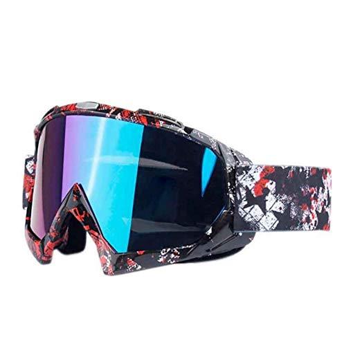 GAOYUEStyle Ski Men Women Anti-Fog Winter Eyewear Goggles Anti-UV Snowboard Snow Outdoor Skiing Windproof Glasses, Army Green, Estados Unidos