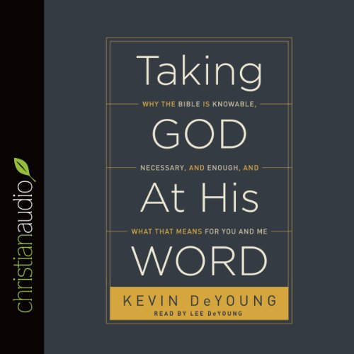 Taking God at His Word audiobook cover art
