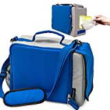 Insulated Lunch Bag for Men Women Work Nurse– Lunch Box Keeps Interior Hot or Cold– Lunch...