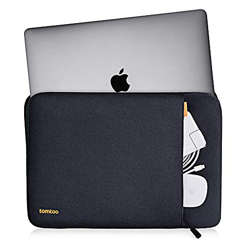 tomtoc 360 Protective Laptop Sleeve for 2020 New Dell XPS 15, 15-inch MacBook Pro with USB-C A1990 A1707, ThinkPa   d X1 Yoga (1-4th Gen), 14 HP Acer Chromebook, Surface Laptop 3 15, Waterproof Bag