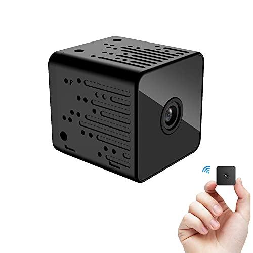 CHENPENG Mini cámara espía, cámara pequeña HD 1080P, con detección de Movimiento y visión Nocturna para el hogar, el automóvil, la Oficina en Interiores y Exteriores