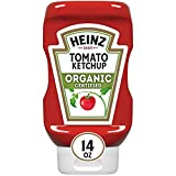 Heinz Organic Tomato Ketchup (14 oz Bottles, Pack of 6)