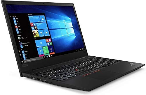 Lenovo ThinkPad E585 20KV0008 15.6' FHD Laptop, AMD Ryzen 5 2500U (4 Core, 3.60 GHz), 16GB DDR4 RAM, 512GB SSD, AMD Radeon Vega 8 Graphics, Windows 10 Pro - UK Keyboard Layout. (Renewed)