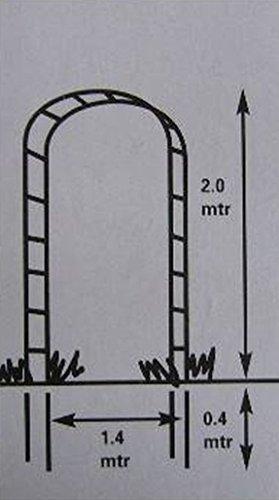 Rosenbogen Metall Rankhilfe - 4