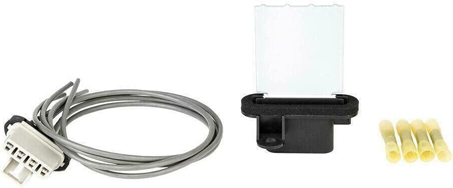 Max 44% OFF Blower Motor Detroit Mall Resistor Kit w 2005-2017 Compatiable With T Harness
