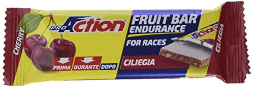 ProAction Fruit Bar (ciliegia, confezione da 24 barrette da 40 g)
