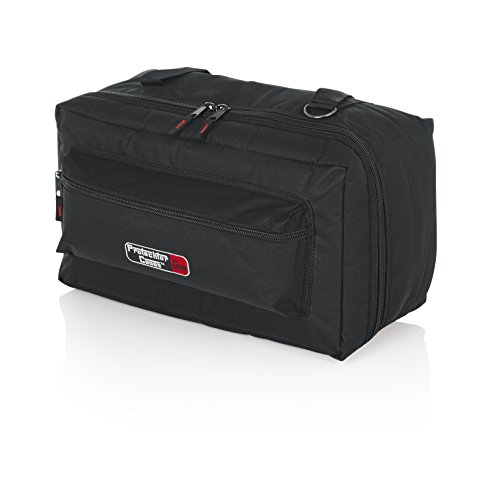 Gator Cases Protechor Series Padded Carry Bag for Bongos or Double Bass Drum Pedals with Removable Shoulder Strap; 18