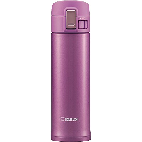 Zojirushi Stainless Steel Travel Mug, 16-Ounce/0.48-Liter, Lilac