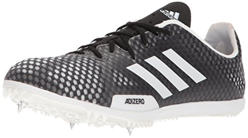 adidas Performance Men's Adizero Ambition 4 Running Shoe, Core Black, Ftwr White, Hi-Res Orange s, 12.5 M US