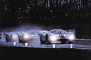 Porsche 917's at Brandshatch Car Poster