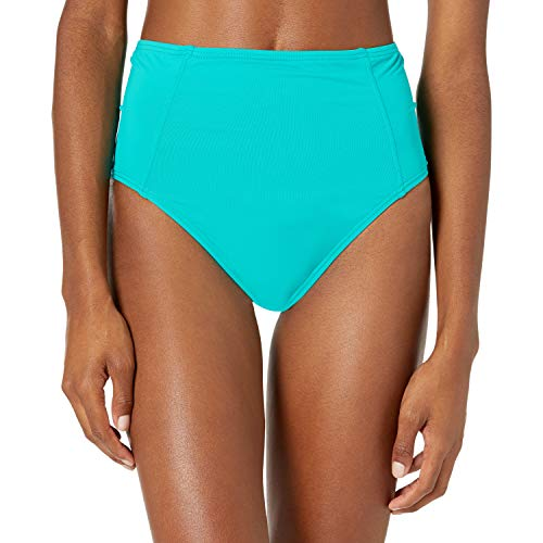 Contours by Coco Reef Women's Garnet Princess Seams HIGH Waist Bottom, SEA Blue 447, Extra Large
