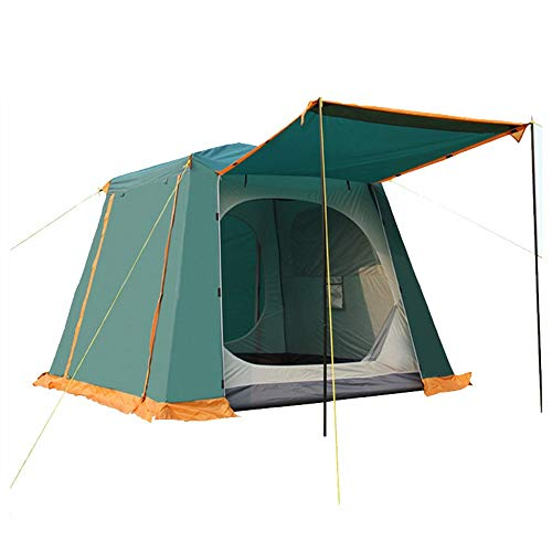RongDuosi GreenOutdoor Camping Tent 5-8 Personen Pak Dubbele laag Outdoor Camping Grote Tent Multi-person Outdoor Tent Outdoor Uitrusting Zwembed
