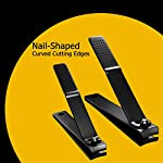Beauty Shopping Tweezer Guru Nail Clipper Set – Professional Stainless Steel Fingernail &