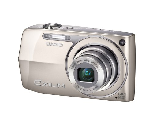 Casio Exilim EX-Z2300 - Cámara Digital (14.1 MP, 4320 x 3240 Pixeles, CCD, 5X, HD), Oro