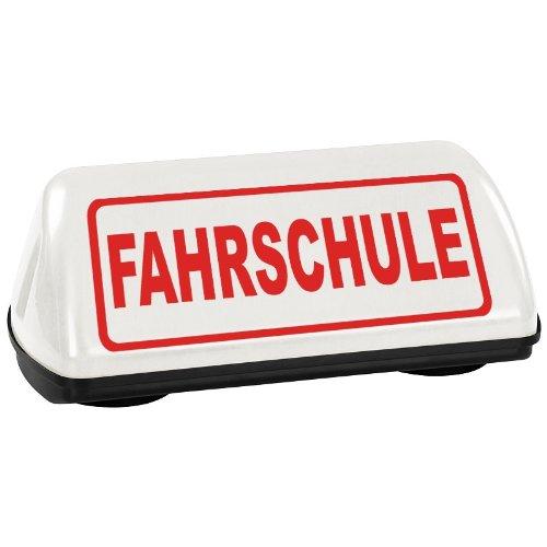 PACO Deutschland e.K. Dachzeichen FAHRSCHULE mit TÜV Gutachten bis 240km/h