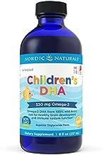 Nordic Naturals Children's DHA, Strawberry - 8 oz - 530 mg Omega-3 with EPA & DHA - Brain Development & Function - Non-GMO - 96 Servings