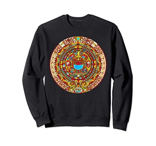 Camiseta con calendario azteca maya 2020 Native Mexico Sudadera