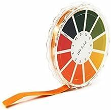 Luntus 3 Set 240 Streifen professional 1-14 pH Lackmuspapier pH Teststreifen Wasser Kosmetik Boden pH-Test Papierstreifen mit Kontrollkarte