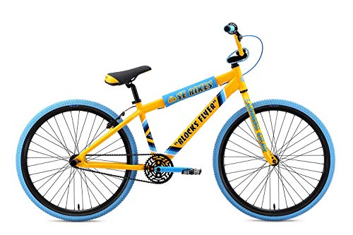 Why Choose SE Blocks Flyer 26 BMX Bike Yellow Mens Sz 26in