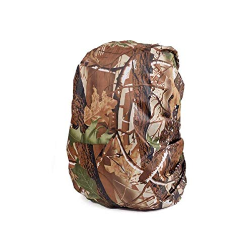 Backpack Cover Rainproof - Pack Cover Waterproof - Portable Camouflage Backpack Cover Waterproof Rainproof Rain Rucksack Pack Dustproof Cover for Travel Camping Outdoor Climbing (L 45-55L)