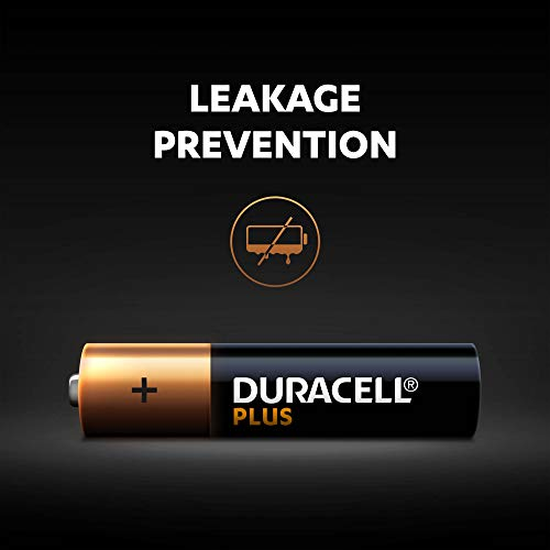Duracell Plus AAA Alkaline Batteries [Pack of 12], 1,5 Volts LR03 MN2400