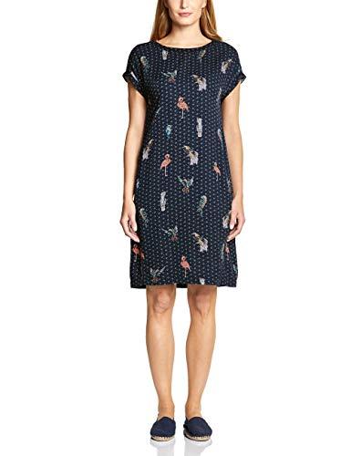 Cecil Damen 142401 Kleid, deep Blue, Medium (Herstellergröße:M)