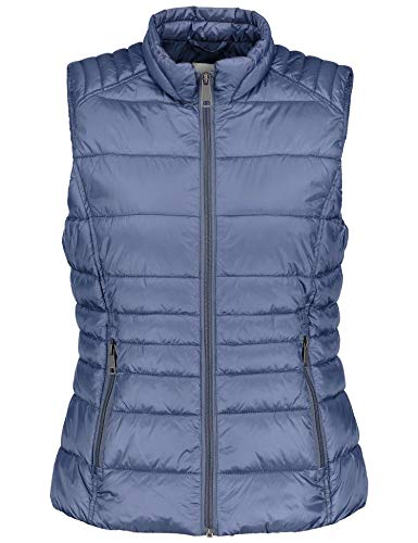 Taifun Damen 240282-11801 Outdoor Weste, Blau (Moonlight Blue 80259), 40