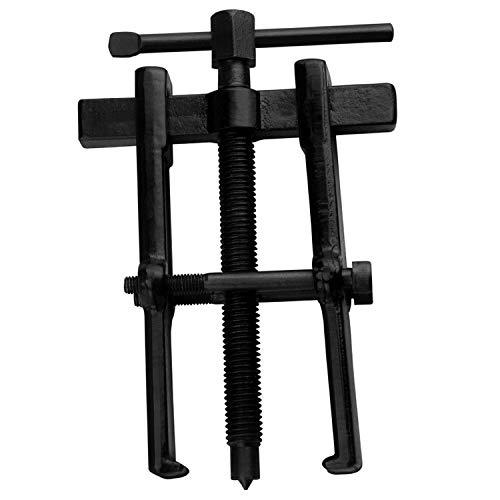 WINLISTING Vatertag Zwei Backen Zahnrad Riemenscheiben Lager Abzieher Werkzeug 2 Mechanik mit kleinem Bein (Schwarz)