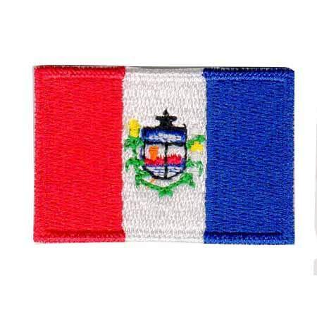 Patch Bordado - Bandeira De Alagoas Pequena BD50176-42P Fecho de Contato