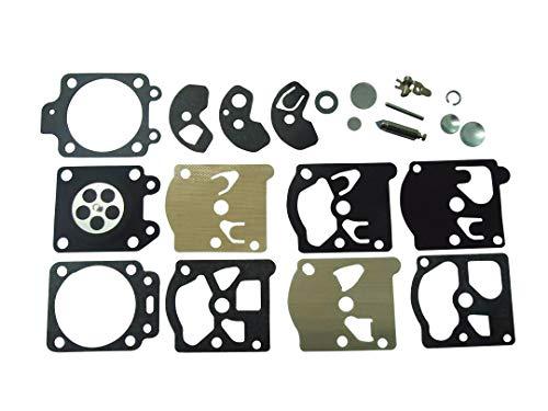 Vergaser Reparatursatz-Set, ersetzt Walbro K10-WAT für Motorsägen und Kantenschneider von Stihl, Husqvarna McCulloch, Echo