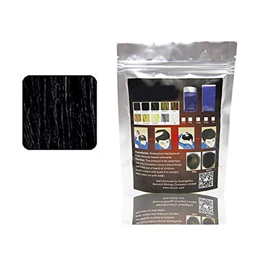 1bag cheveux Building fibres instantanée Perte de cheveux traitement Poudre Couleur Conceal cheveux clairsemés Ajouter Volume pour les hommes et les femmes (Dark Brown) Cosmetic partie