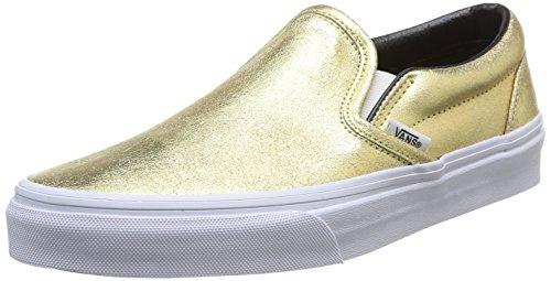 Vans Unisex-Erwachsene Classic Low-top, Gold, 38.5 EU