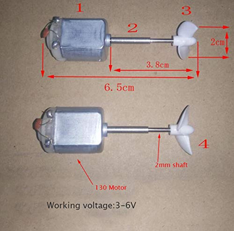 130 380 550 Drive Motor Shaft Propeller Screw Set for RC Boat Model CAT Catamaran Spare Parts 2 3mm RC Boat Shaft Kit   B