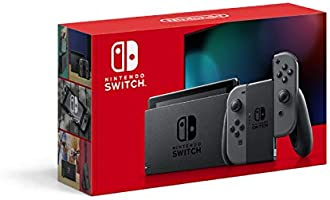 任天堂 Nintendo Switch主机 Joy-Con(L)/(R) 灰色(电池持续时间长款)
