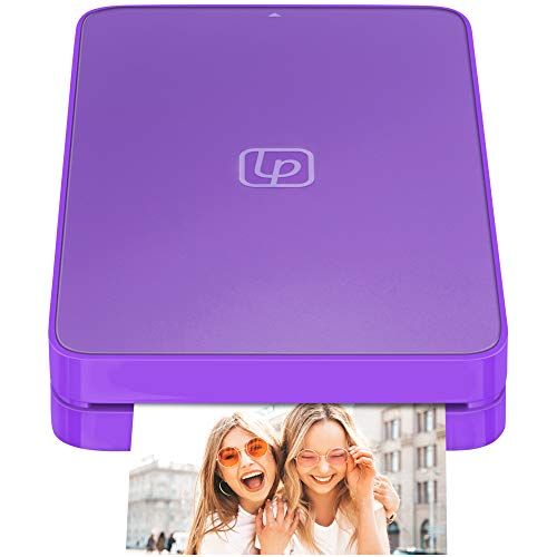 Lifeprint 2x3 Portable Photo and Video Printer for iPhone and Android. Make Your Photos Come to Life w/Augmented Reality - Purple