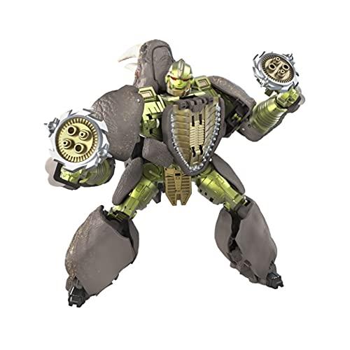 Transformers Spielzeug Generations War for Cybertron: Kingdom Voyager WFC-K27 Rhinox Action-Figur – Kinder ab 8 Jahren, 17,5 cm