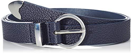 Springfield 1.T.Cinturon Basico Navy-C/19 Cinturón, Azul (Blue_Print 19), 85 (Tamaño del fabricante: 85) para Mujer