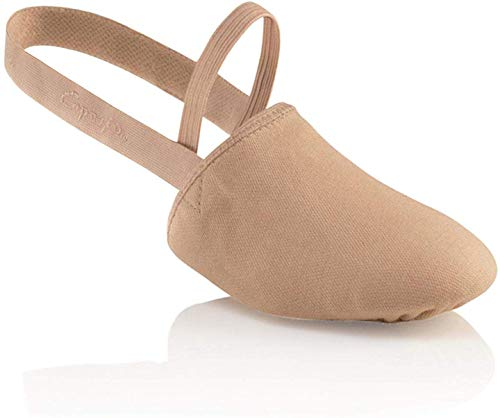 Capezio Canvas Pirouette ii Dance Shoe, Nude, Large/10-11.5 M US